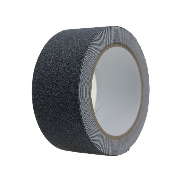 Anti-Rutsch-Trapezband, schwarz, selbstklebend, 10 cm breit, 10m-Rolle
