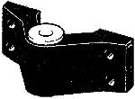Spiegelaug-Beschlag für Ruderanlage ab 1997