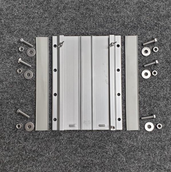 Adapterplatte für abnehmbare Motorhalterung einzeln, mit Schraubensatz