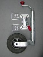 Stützrad für Trailer 450B/350S/450SE, Vollgummi